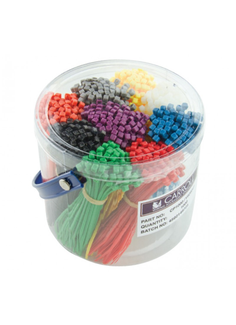 Coloured Cable Ties Cable Tie Packs