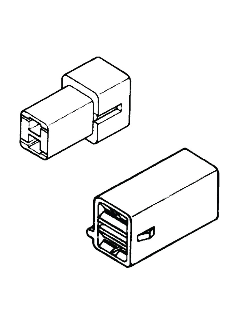 ql housing - 2 pin - ql series - housing