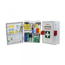 National WorkPlace First Aid Kit Wall Mount Plastic Case