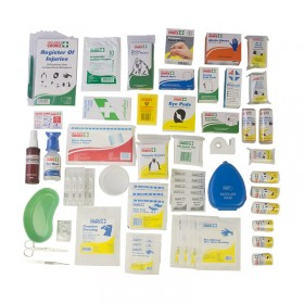 National WorkPlace First Aid Kit Wall Mount Refill Kit (contents kit)