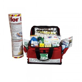 Burns First Aid Kit Large Portable Soft Case