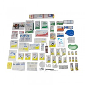Burns First Aid Kit Refill Only - Contents Only