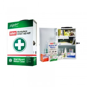 Wall Mount Workplace First Aid Kit (Metal Case)