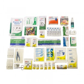 Wall Mount Workplace First Aid Kit (Refill Contents Only)