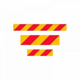 Left Hand Rear Marker Plates - Class 400 (Class 1) Reflective