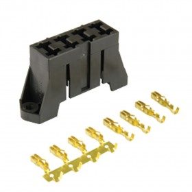 Standard Blade Fuseholder - Stacking with Mounting Holes