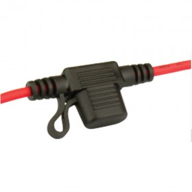 Mini Blade Fuseholder - In line with Cap and Wire