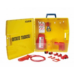 Portable Valve & Electrical Lockout Station