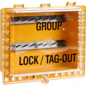 Group Lockout Tagout Box