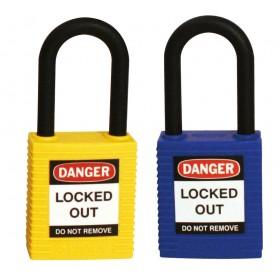 Brady Keyed-Differently Nylon Safety Padlock