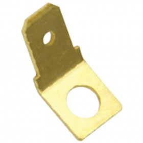 Uninsulated Quick Connect Tabs - 45 Degree