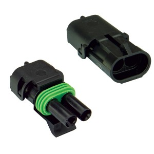 Weather Pack Complete Connector Set - 2 Pins